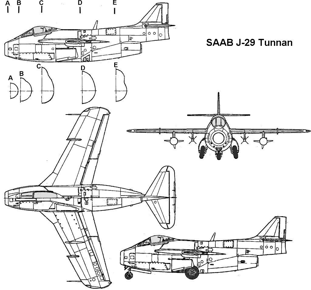 Saab J-29